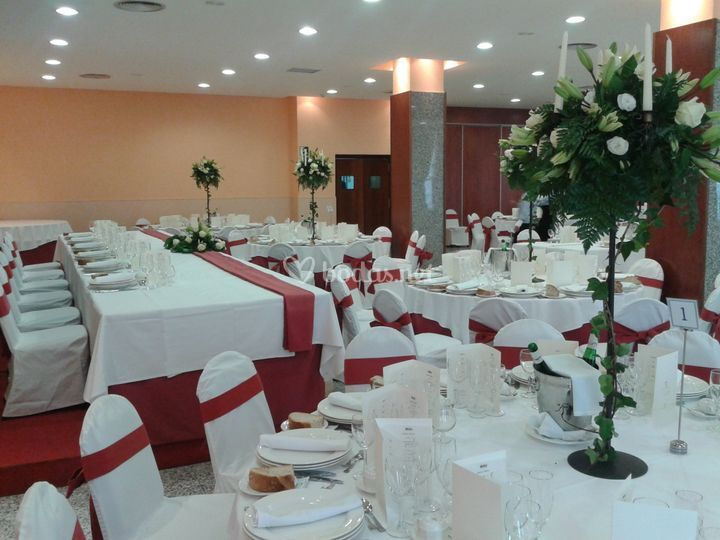 Salón Las Médulas de Hotel Ponferrada Plaza