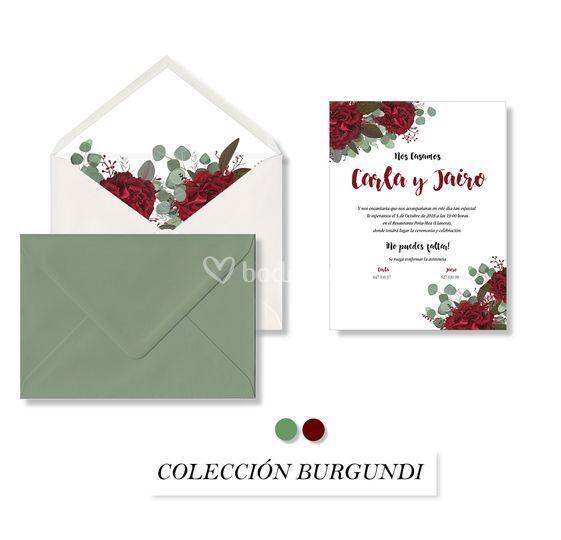 Colección burgundi