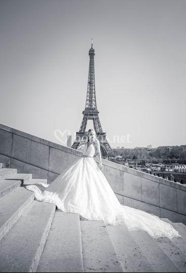 Vestido completo de novia