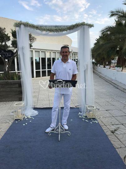 Vicente Mancheño - Maestro de Ceremonias