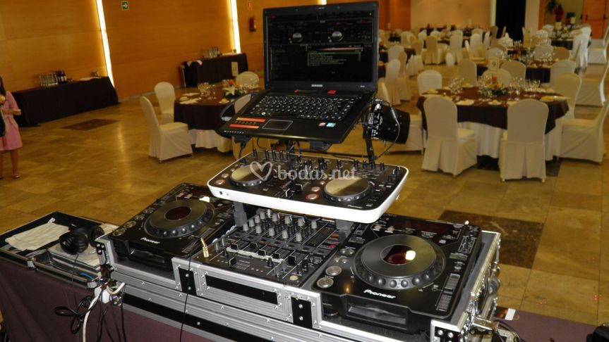 Cabina de DJ CD Pioneer