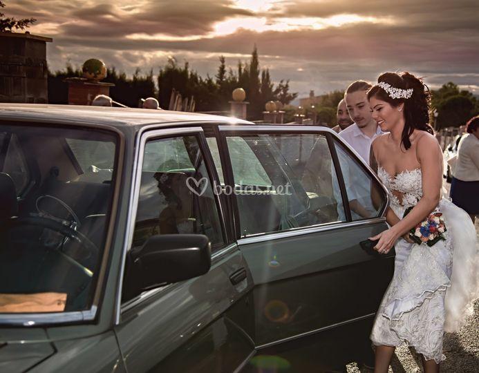 Camino novia