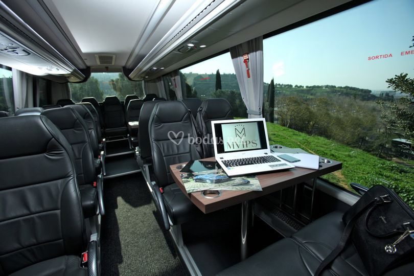 Minibuses de hasta 28 plazas