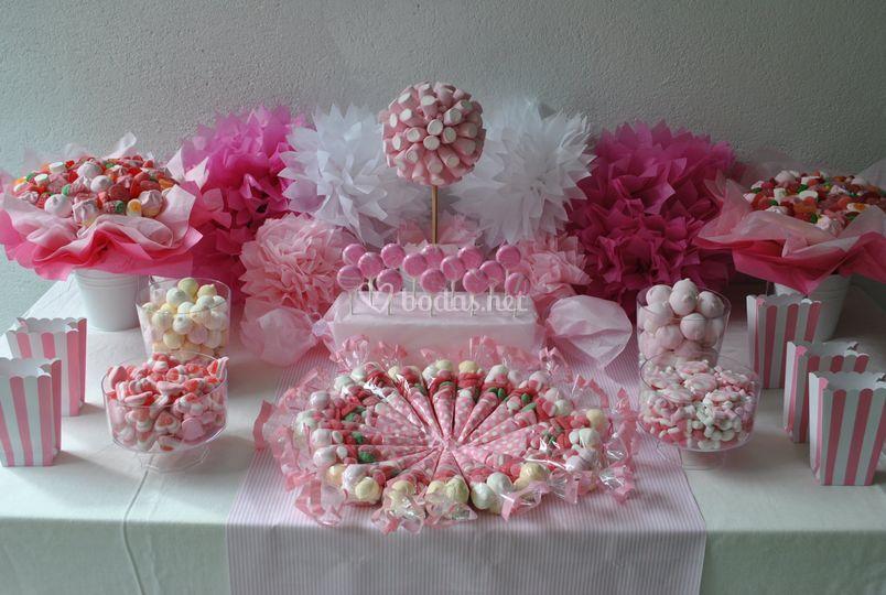 Sweet table de Los detalles de Bea