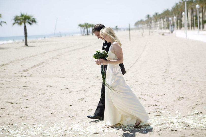 Casarse en la arena