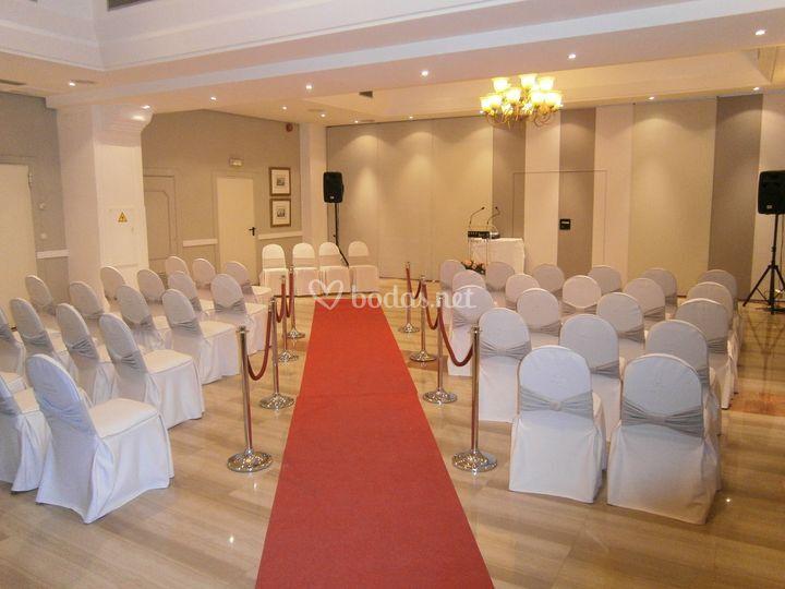 Salón europa - boda civil