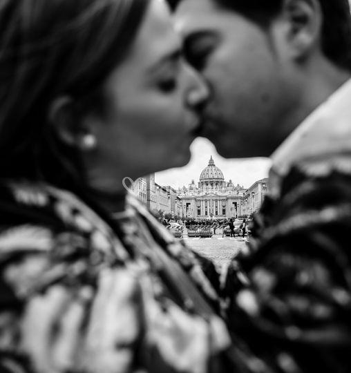 Pre-boda en Roma