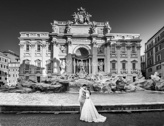 Reportaje post-boda en Roma