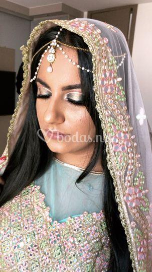 Indu makeup