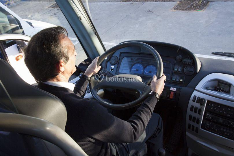 Detalle Autocares Virgen de Lo