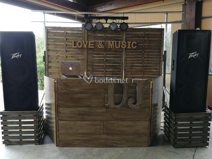Cabina madera