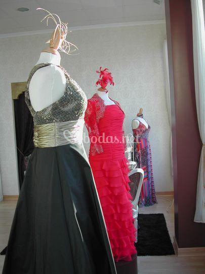 Vestidos para fiesta y ceremonia