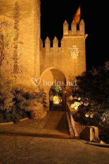 La entrada al Castillo