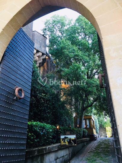 Puerta de entrada al Castillo