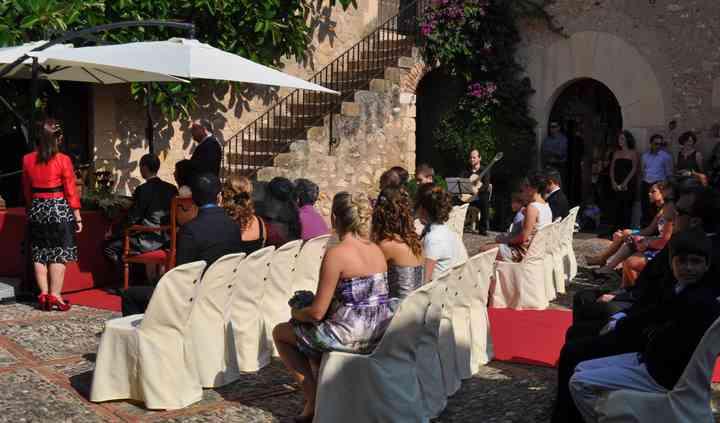 Actuación en boda