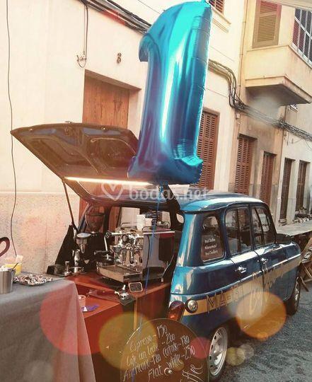 Primer aniversario Coffee Car