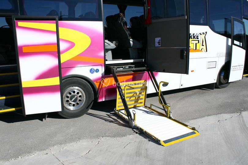 Microbuses adaptados a p. M. R.