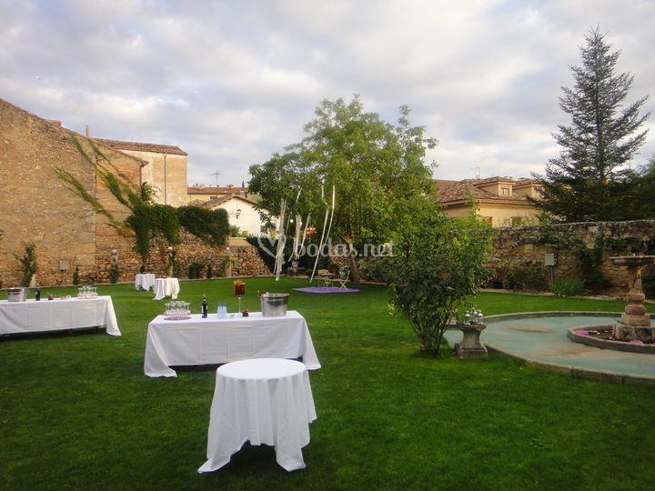 Coctel Jardines Palacio del Vi