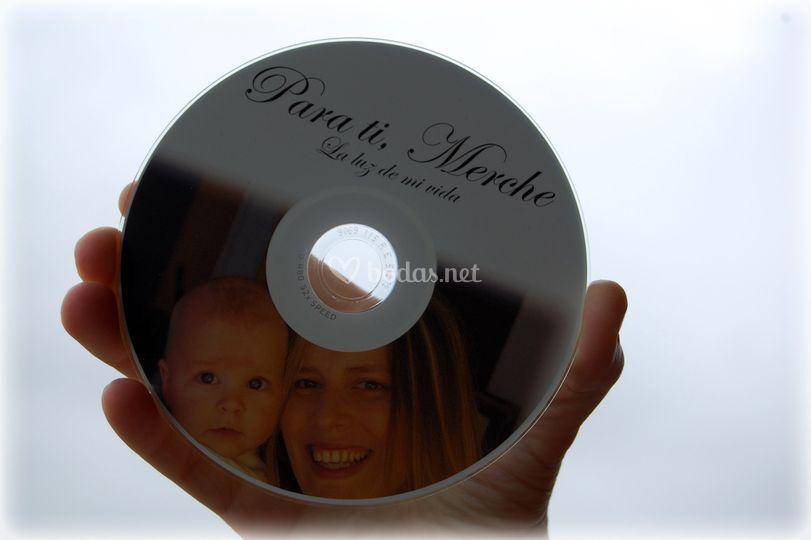 CD con imagen impresa