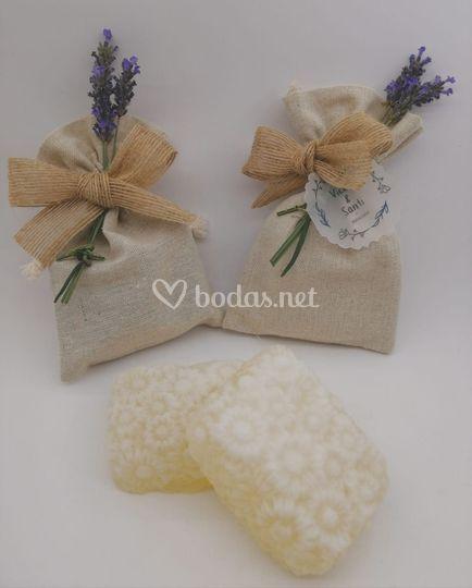 Saquitos con lavanda natural
