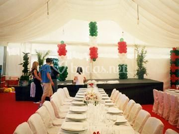 Banquete en Carpa