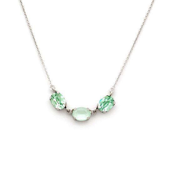 Collar Swarovski Glamour Verde