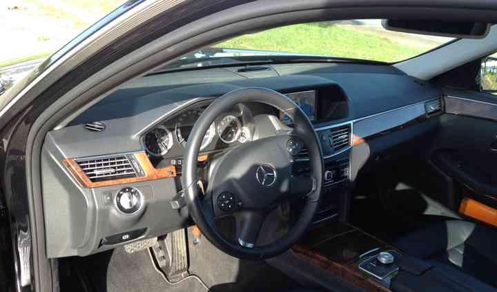 Mercedes - interior