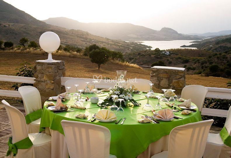 Terraza bodas