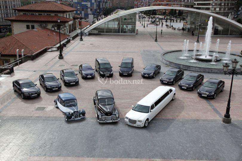 Flota vehículos de Alcucar