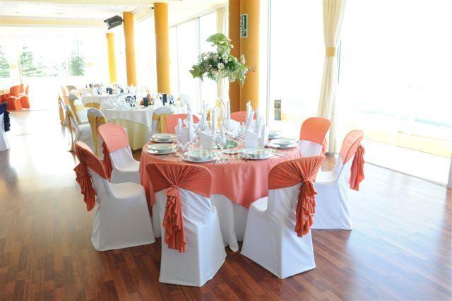 Montaje boda en naranja