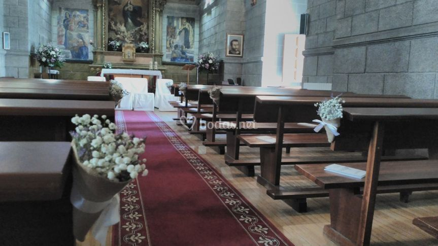 Decoración capilla