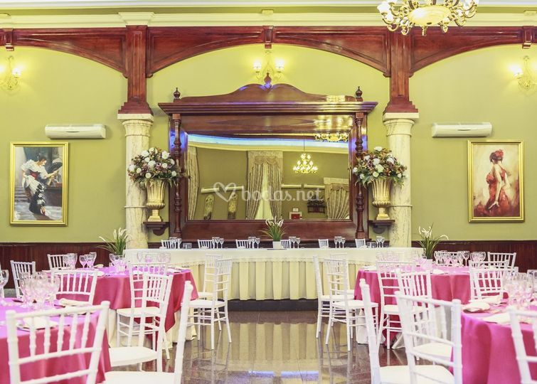 Salón Don Juan. Mesa nupcial