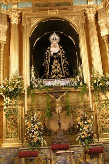 Decoracion de altar
