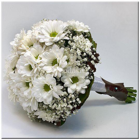 Bouquet de novia de margaritas