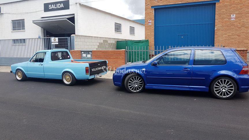 VW Caddy MK1 GTI r32 IV