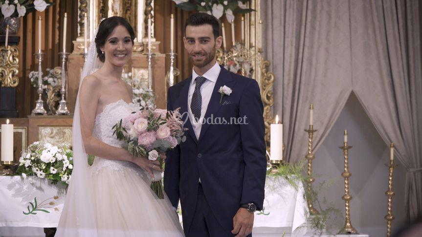 Fotograma de una boda