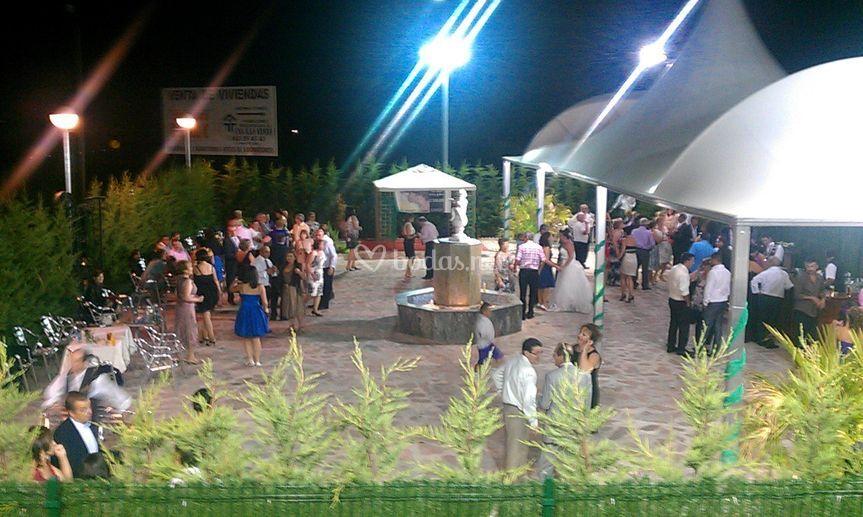Jardín para celebración