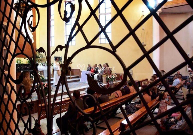 En la iglesia de la Sant.Trinidad de Crevillente