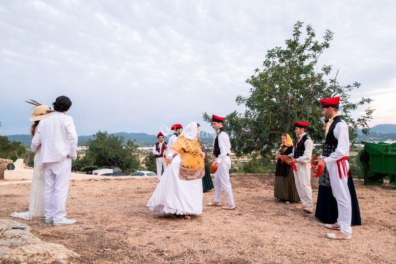 Baile típico ibicenco
