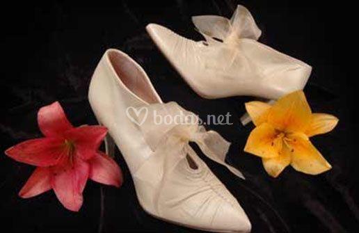 Tiffany Zapatos de Novia a la carta