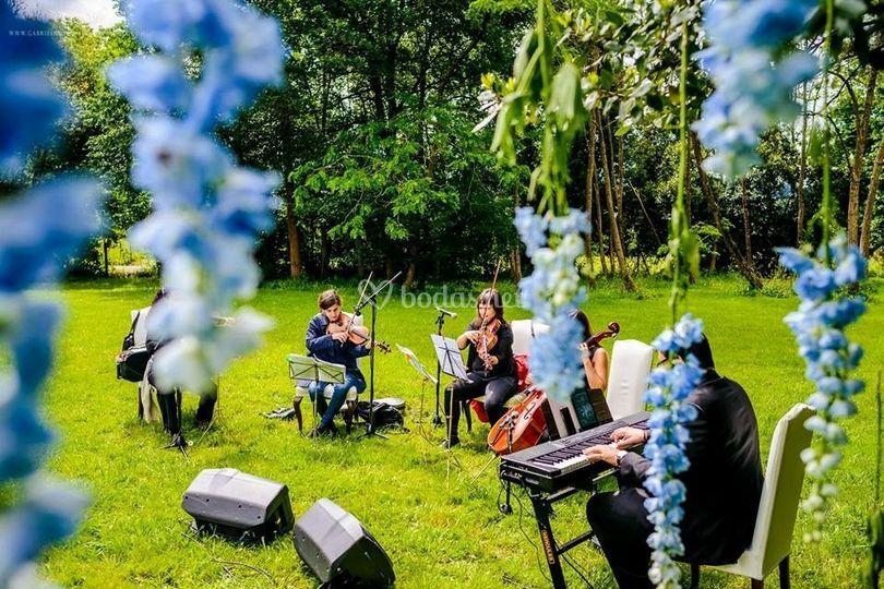 Trio de cuerda y piano