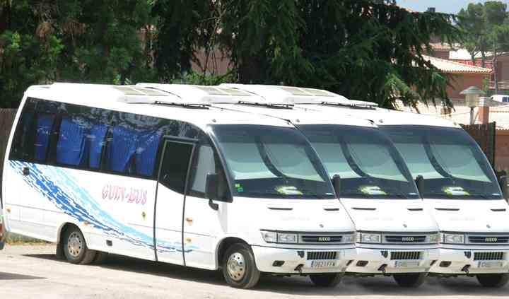 Flota microbuses