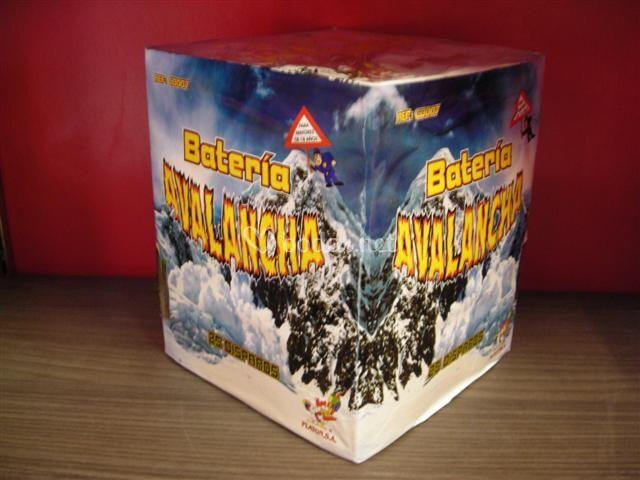 Batería Avalancha Multicolor