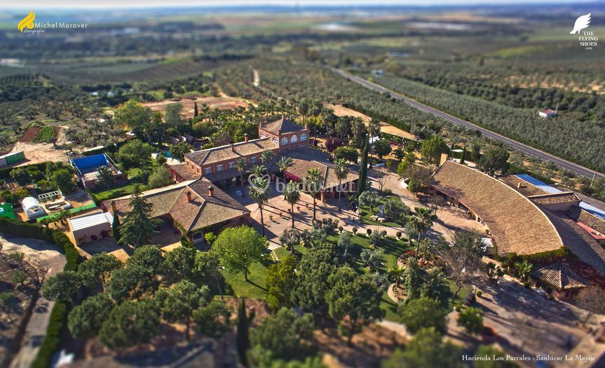 Exteriores Hacienda Parrales