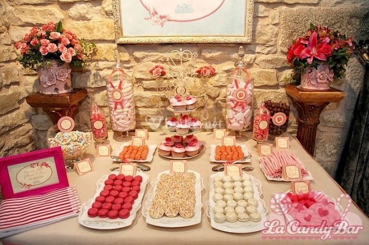 Imprescindible una mesa de dulces - Ideas para montar un bar ...