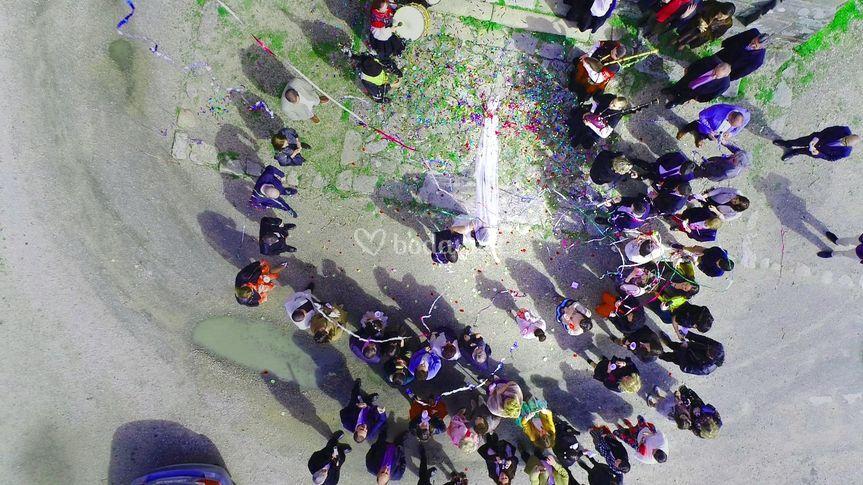 Imágenes aéreas con drone