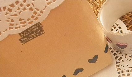 Un sello-guirnalda para tus detalles