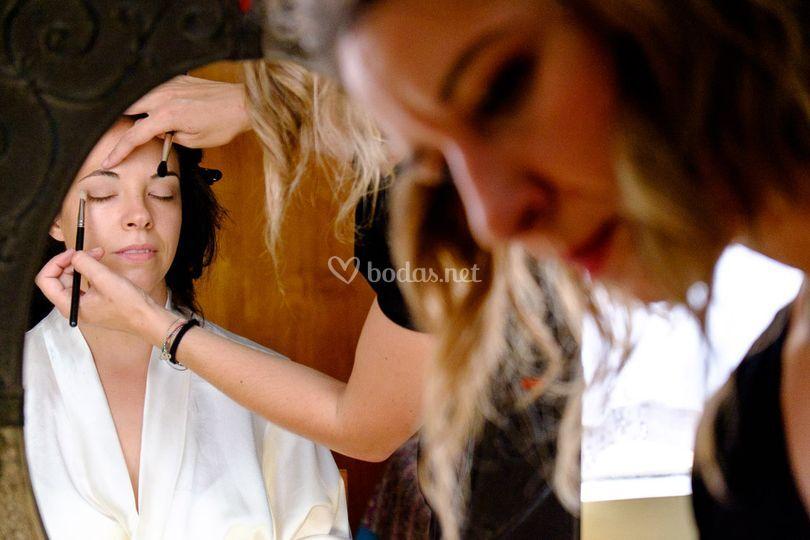 Momento maquillaje