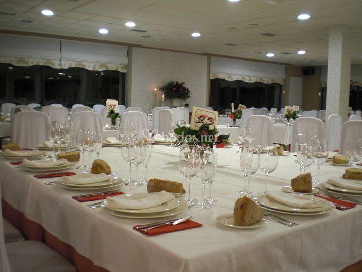 Salón de bodas (Boda de tarde)