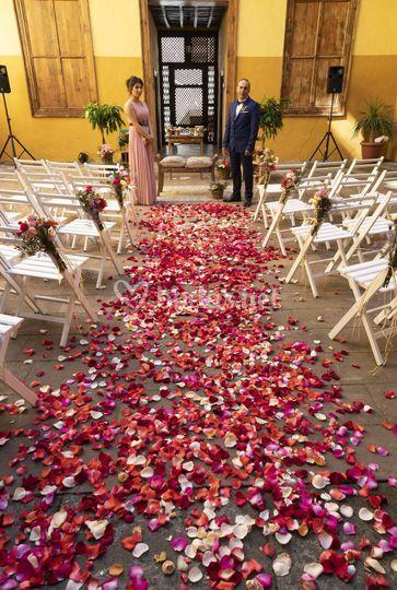Ceremonia Mónica y Carlos
